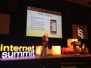 Tom Rouilliard at Internet Summit