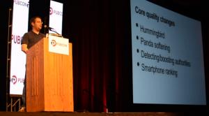 Matt Cutts keynote at Pubcon 2013 Las Vegas