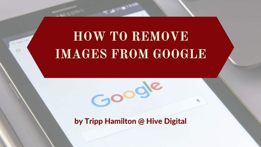 remove images from google
