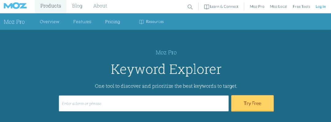 How To Use Moz Keyword Explorer for Paid Search