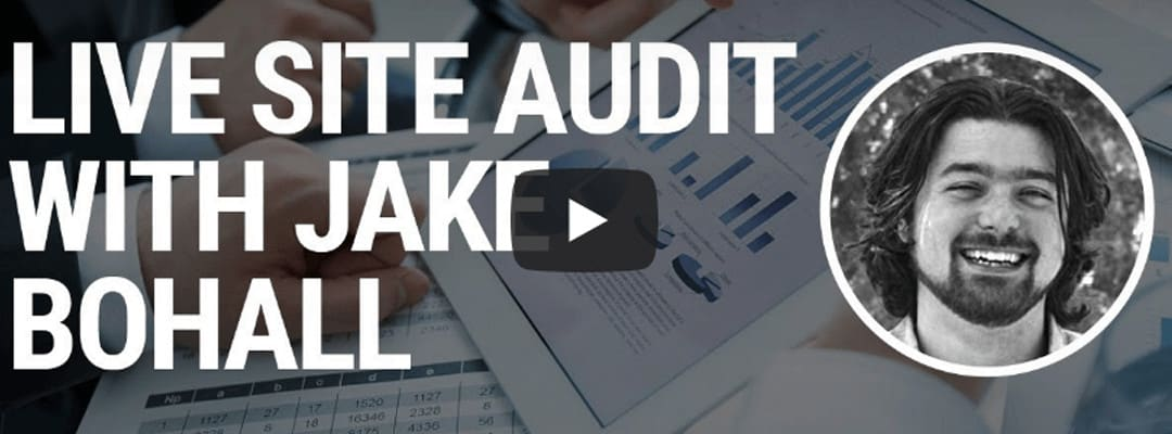 Live Site Audit with Jake Bohall | SEM Rush & Hive Digital
