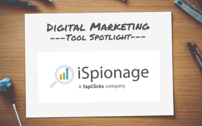 Digital Marketing Tool Spotlight: iSpionage