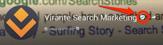 Google Plus Page Name Verification