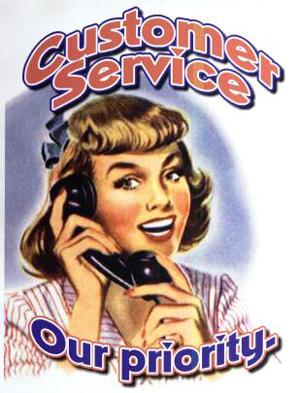 Vintage-customer-service-poster