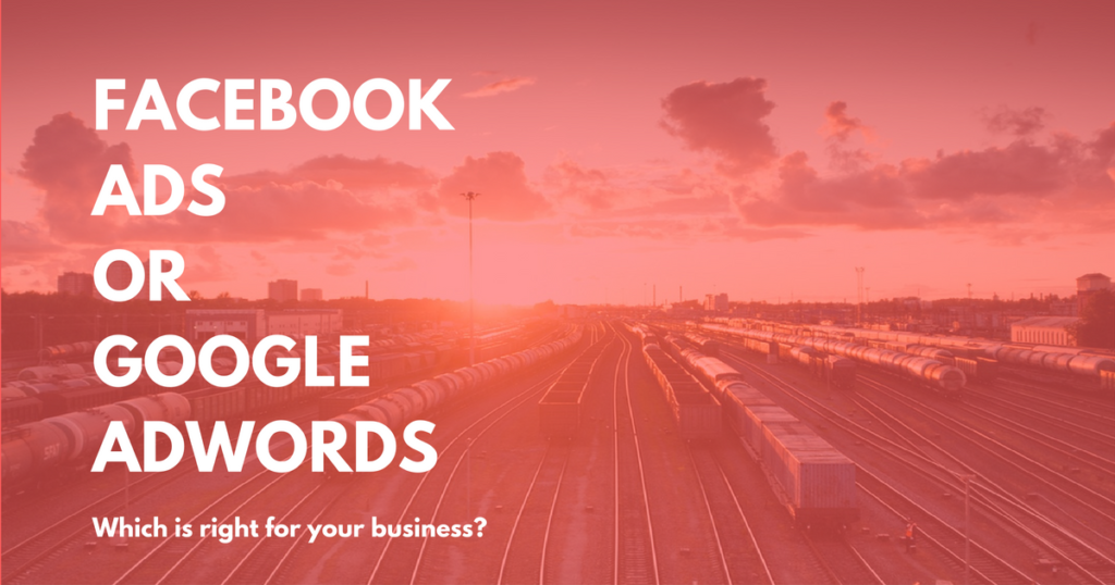 facebook ads or google adwords